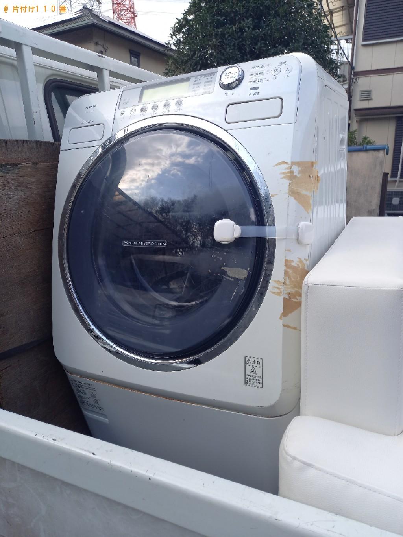 【船橋市小室町】ドラム式洗濯機の出張不用品回収・処分ご依頼