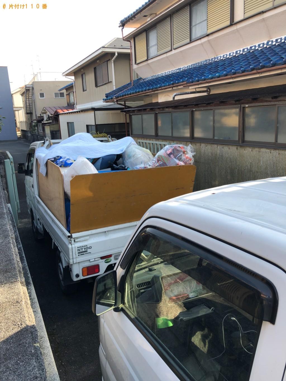 【守山市】トラックパックでの出張不用品回収・処分ご依頼
