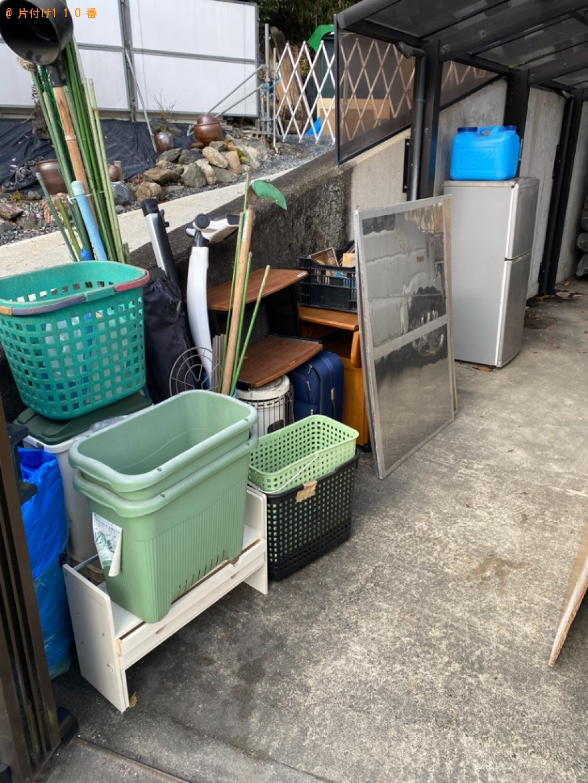 【亀岡市千代川町】軽トラック1杯以内の出張不用品回収・処分ご依頼