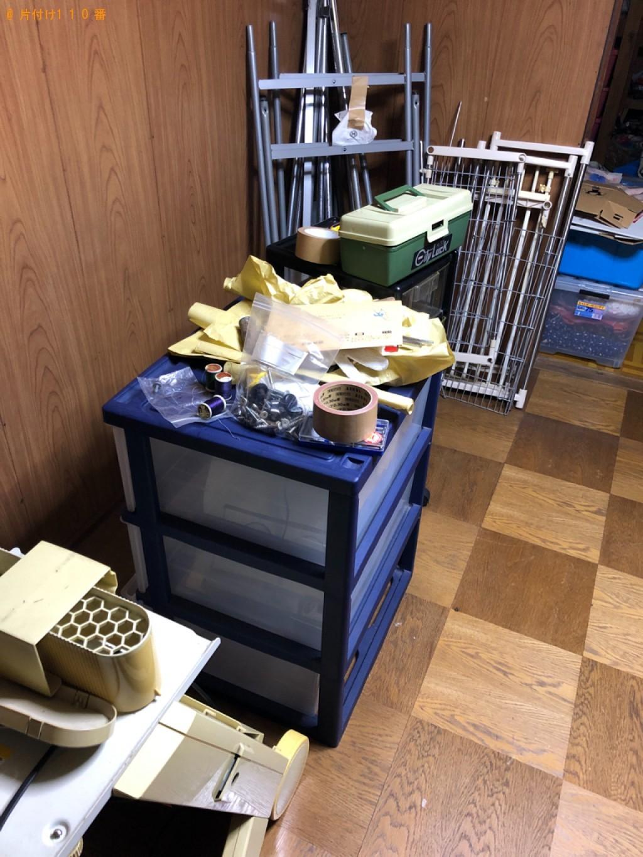【北九州市小倉南区】軽トラ1杯以内の出張不用品回収・処分ご依頼