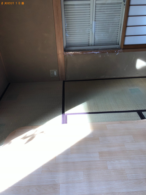 【京都市】介護用電動シングルベッドの出張不用品回収・処分ご依頼
