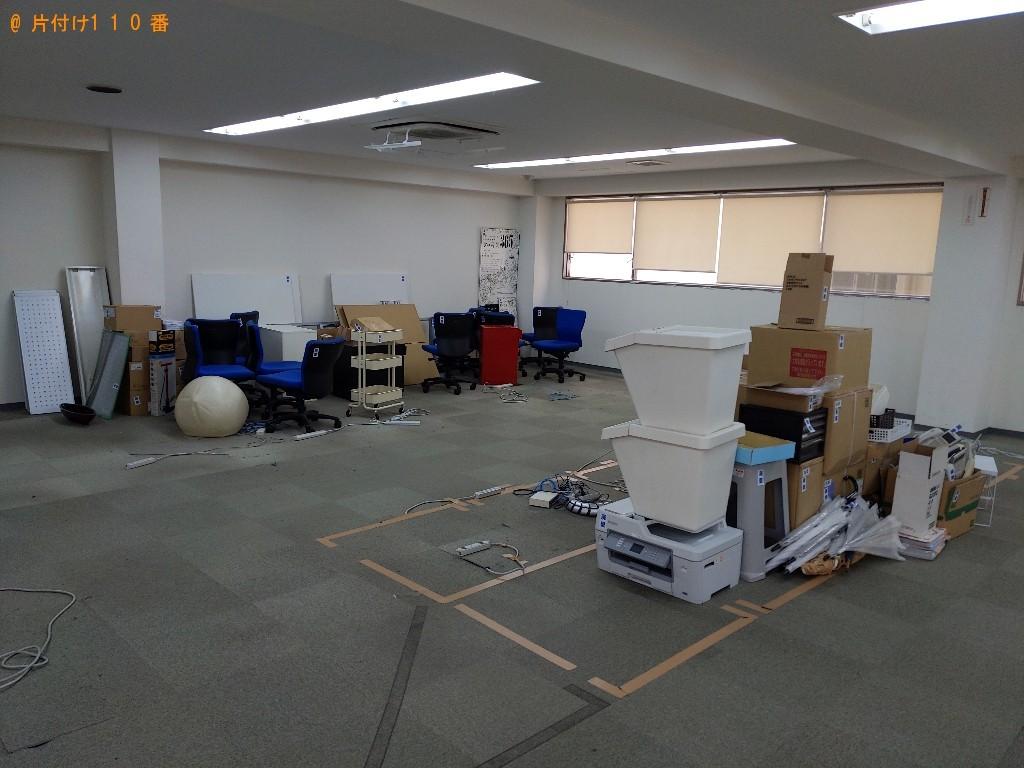 【大阪市西区】トラックパックでの出張不用品回収・処分ご依頼
