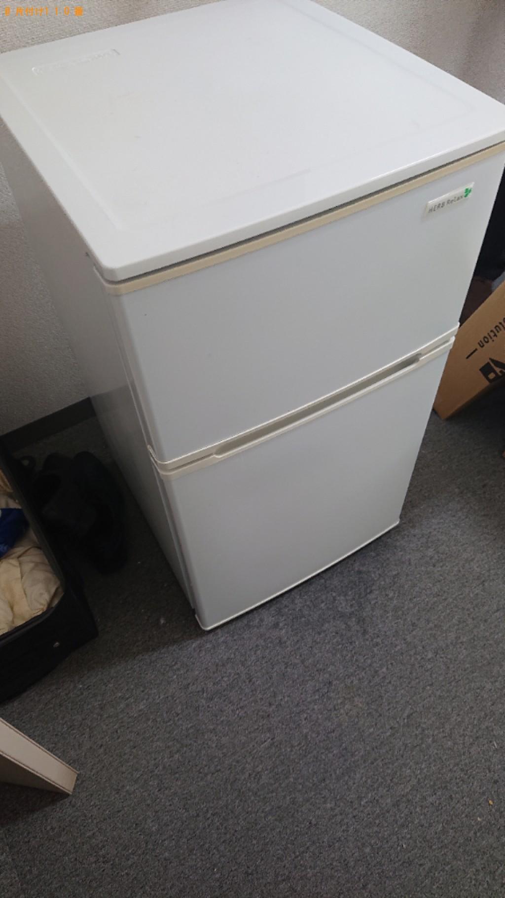 【大和郡山市上三橋町】冷蔵庫の出張不用品回収・処分ご依頼
