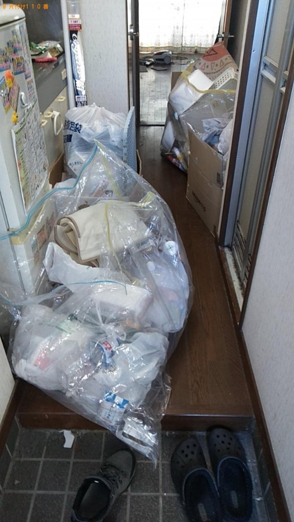 【伊予郡砥部町】軽トラ1杯以内の出張不用品回収・処分ご依頼