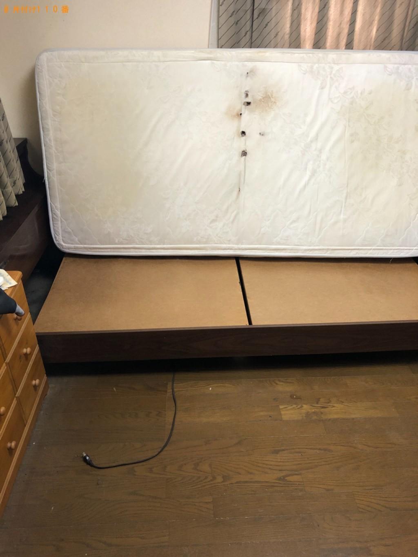 【宇治市】シングルベッドの出張不用品回収・処分ご依頼 お客様の声