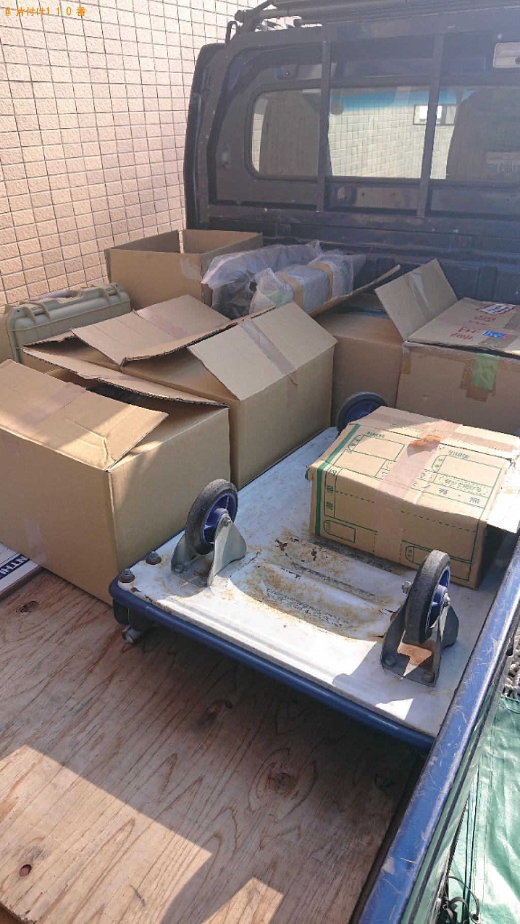 【柏原市】軽トラック1杯以内の出張不用品回収・処分ご依頼