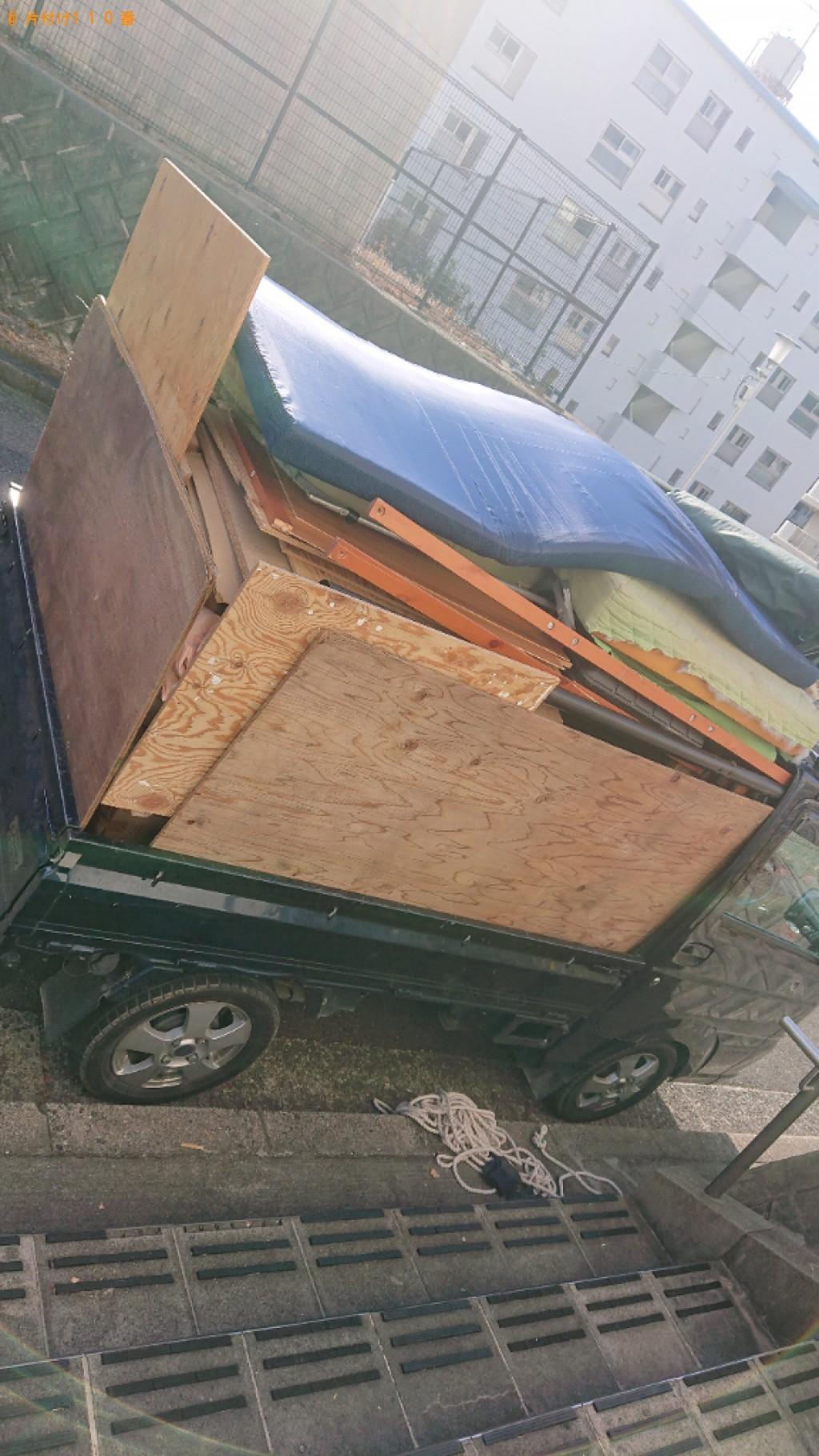 【豊中市】軽トラック1杯以内の出張不用品回収・処分ご依頼