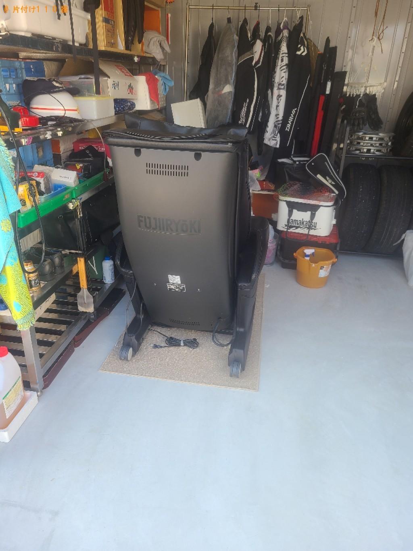 【防府市】マッサージチェアの出張不用品回収・処分ご依頼