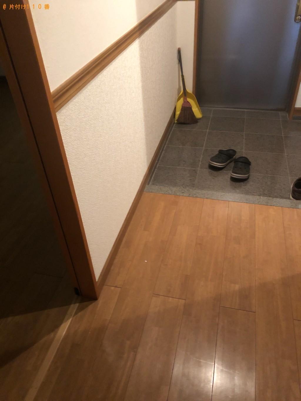 【下関市赤間町】軽トラック1杯以内の出張不用品回収・処分ご依頼