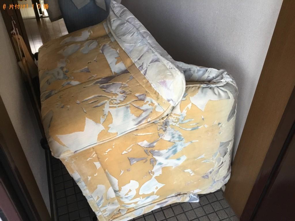 【神戸市東灘区】一人用ソファーの出張不用品回収・処分ご依頼