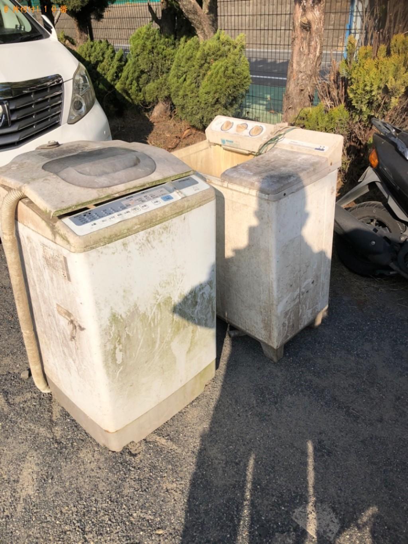 【栗東市】洗濯機の出張不用品回収・処分ご依頼 お客様の声