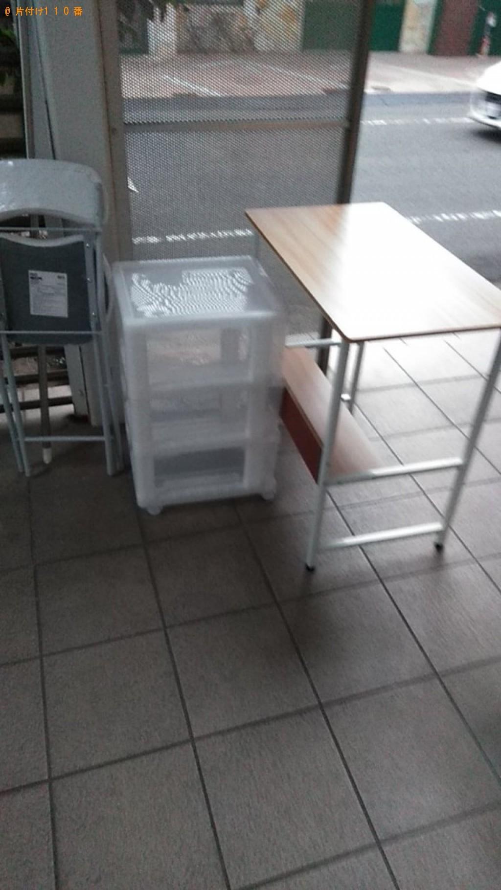 【松山市萱町】軽トラック1杯以内の出張不用品回収・処分ご依頼