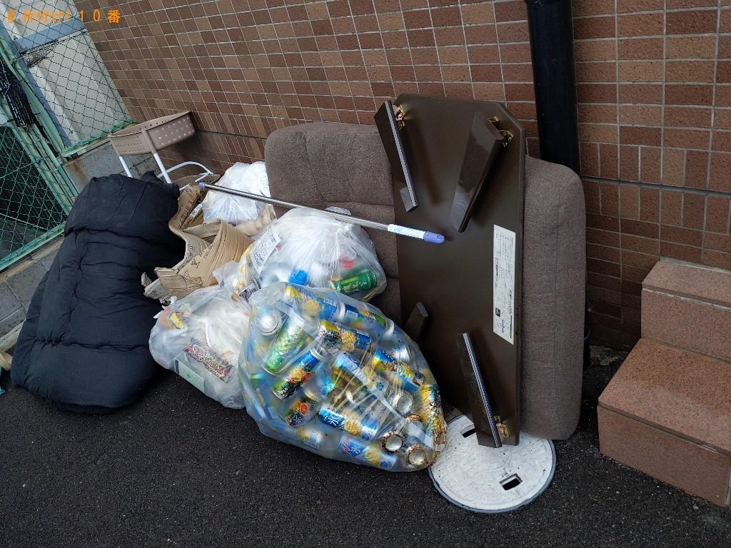 【茨木市中総持寺町】軽トラ1杯以内の出張不用品回収・処分ご依頼