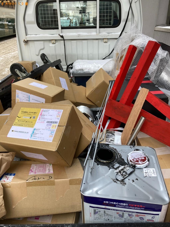 【札幌市中央区】軽トラパックでの出張不用品回収・処分ご依頼