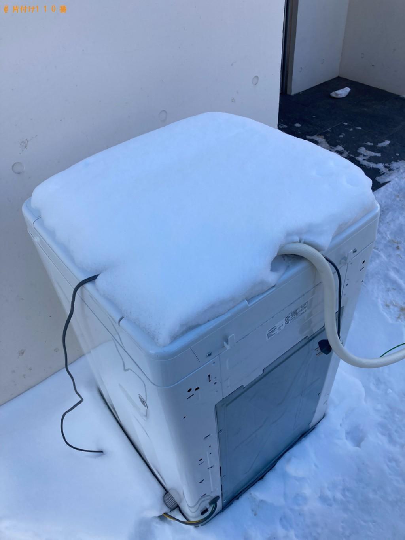 【札幌市中央区】洗濯機の出張不用品回収・処分ご依頼 お客様の声