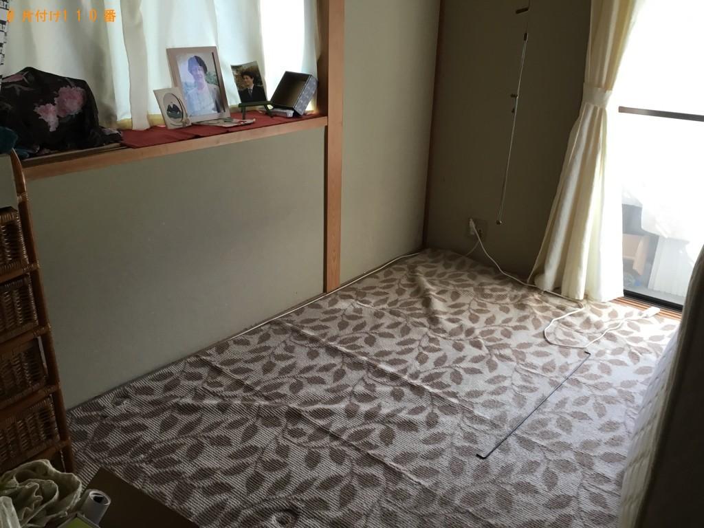 【神戸市中央区】シングルベッドの出張不用品回収・処分ご依頼