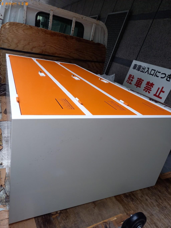 【川崎市川崎区】業務用ロッカーの出張不用品回収・処分ご依頼