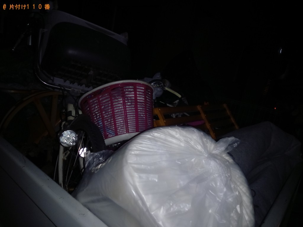 【新座市】軽トラック1杯以内の出張不用品回収・処分ご依頼