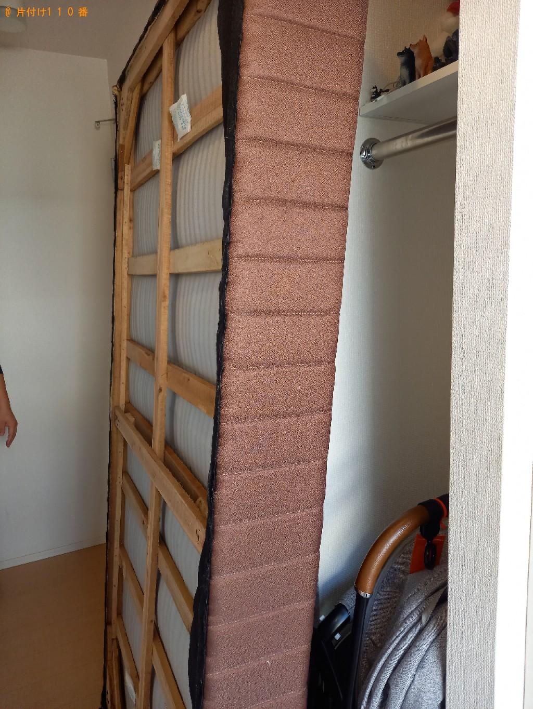 【佐倉市】シングルベッドの出張不用品回収・処分ご依頼 お客様の声