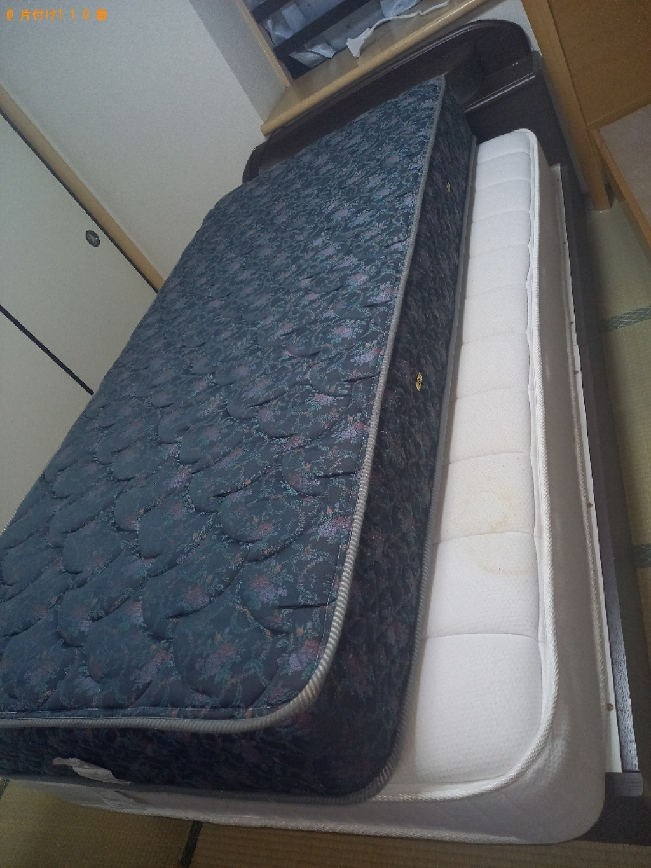 【千葉市稲毛区】ベッドの出張不用品回収・処分ご依頼 お客様の声