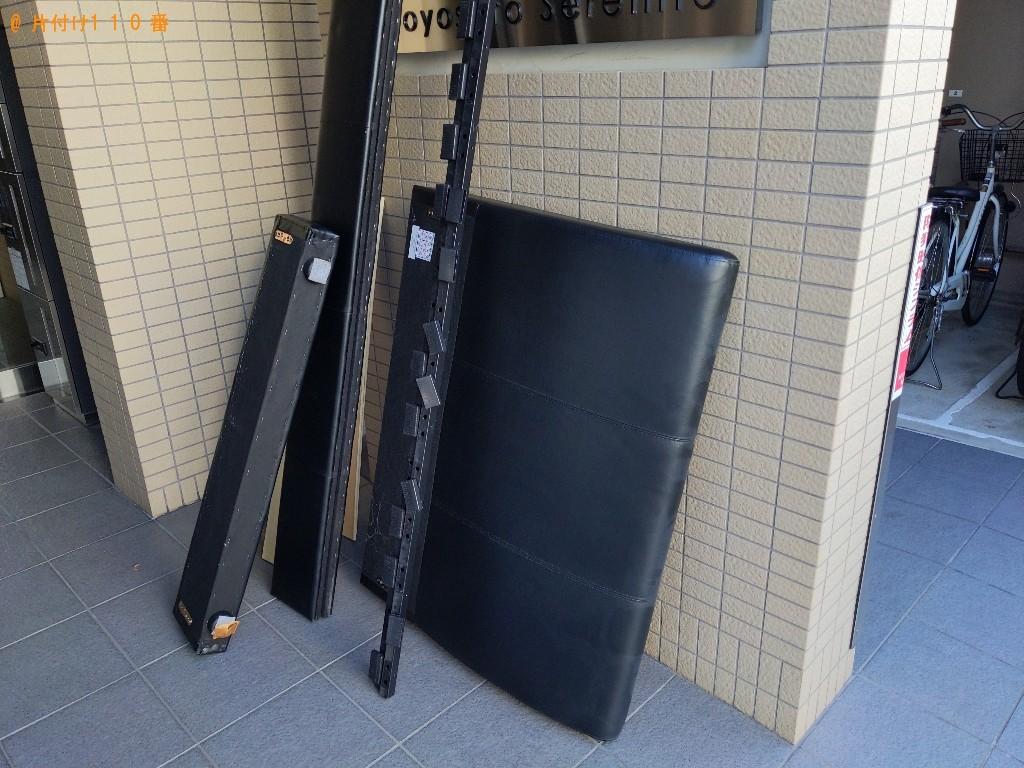 【大阪市東淀川区】シングルベッドの出張不用品回収・処分ご依頼