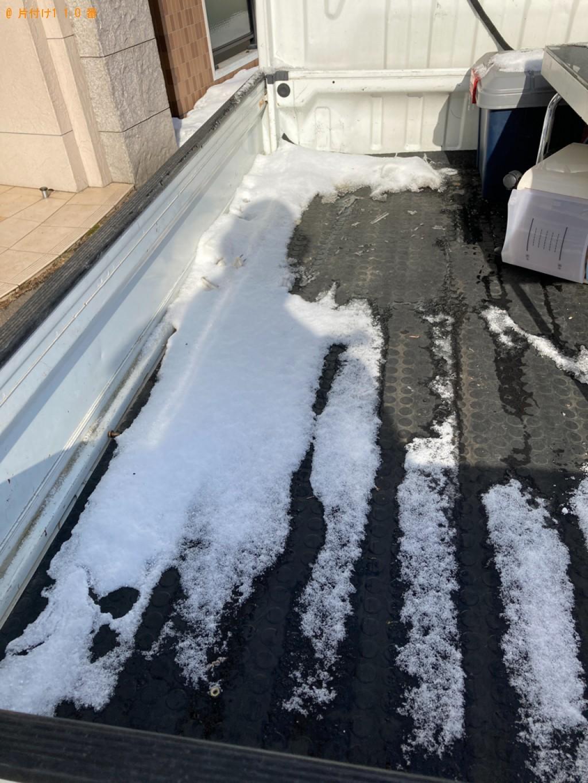 【札幌市北区】シングルベッドの出張不用品回収・処分ご依頼