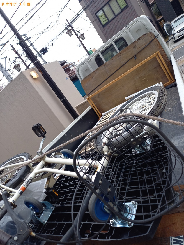 【上尾市宮本町】軽トラック1杯以内の出張不用品回収・処分ご依頼