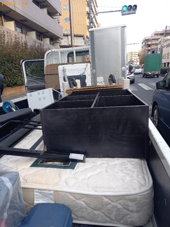 【練馬区北町】軽トラック1杯以内の出張不用品回収・処分ご依頼