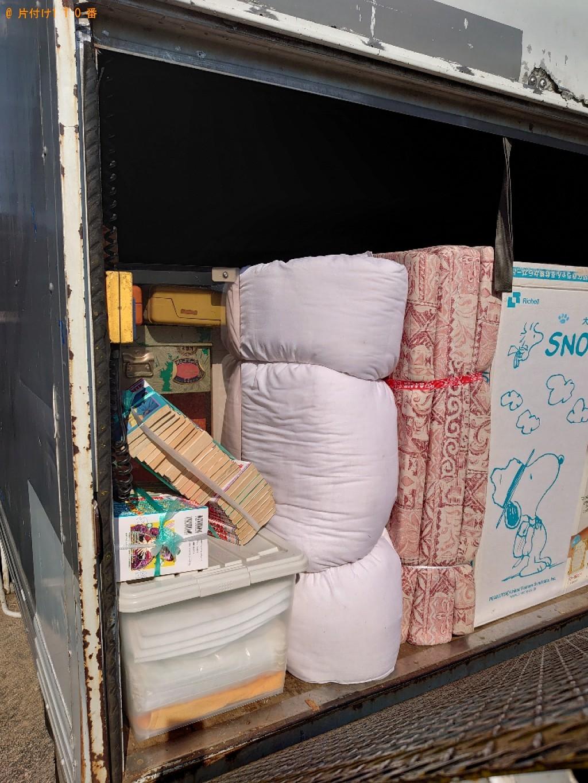 【今治市】トラックパックでの出張不用品回収・処分ご依頼