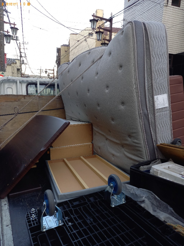【世田谷区】ダブルベッドの出張不用品回収・処分ご依頼 お客様の声