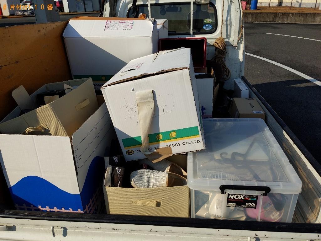 【奈良市法華寺町】軽トラパックでの出張不用品回収・処分ご依頼