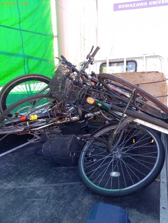 【世田谷区】自転車の出張不用品回収・処分ご依頼 お客様の声