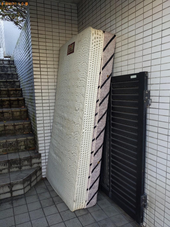 【奈良市鳥見町】ベッドマットレスの出張不用品回収・処分ご依頼