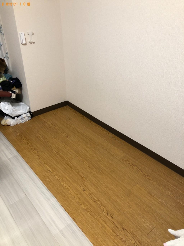 【福岡市東区】シングルベッド枠のみの出張不用品回収・処分ご依頼