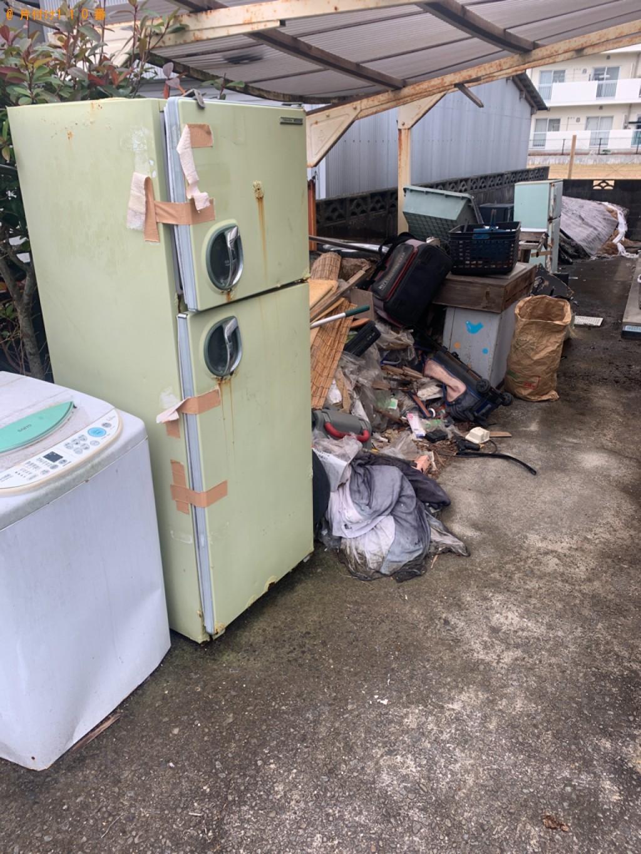 【日南市】トラックパックでの出張不用品回収・処分ご依頼