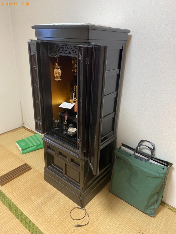 【京都市西京区】仏壇の出張不用品回収・処分ご依頼 お客様の声