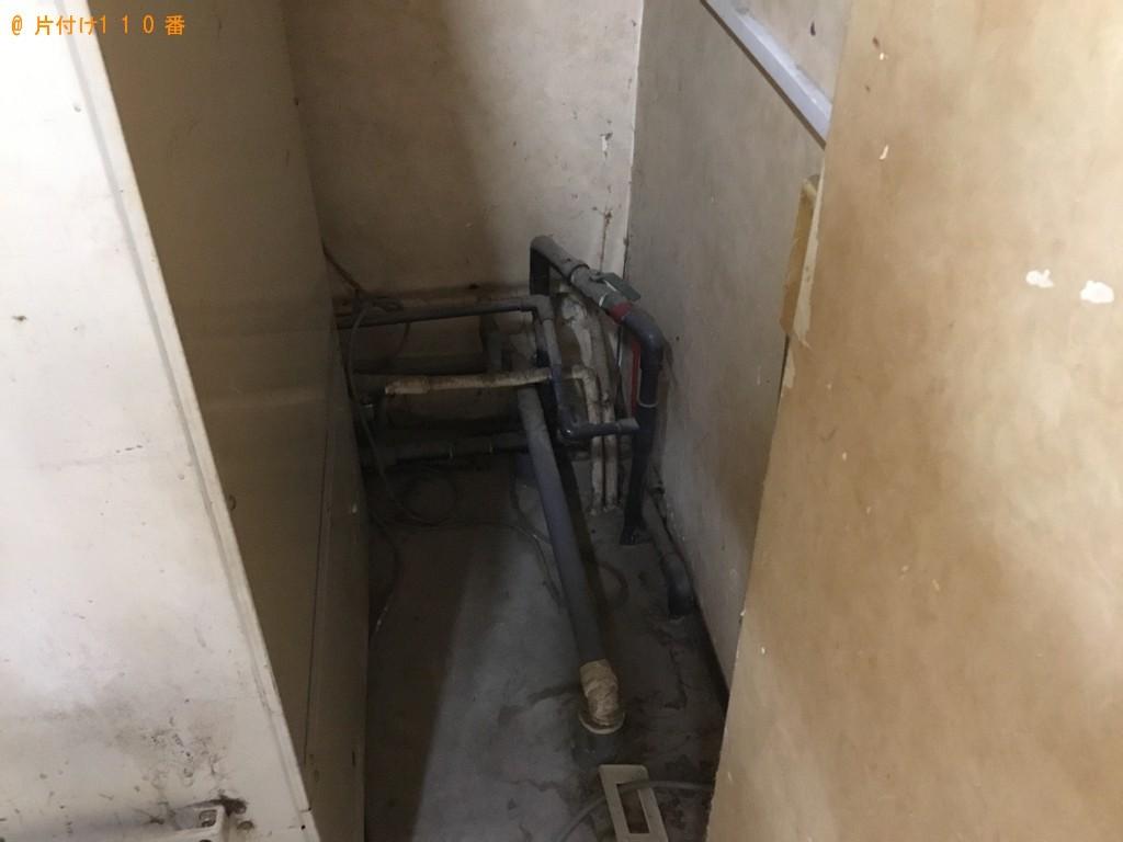 【大阪市住吉区】給湯器のボイラーの出張不用品回収・処分ご依頼