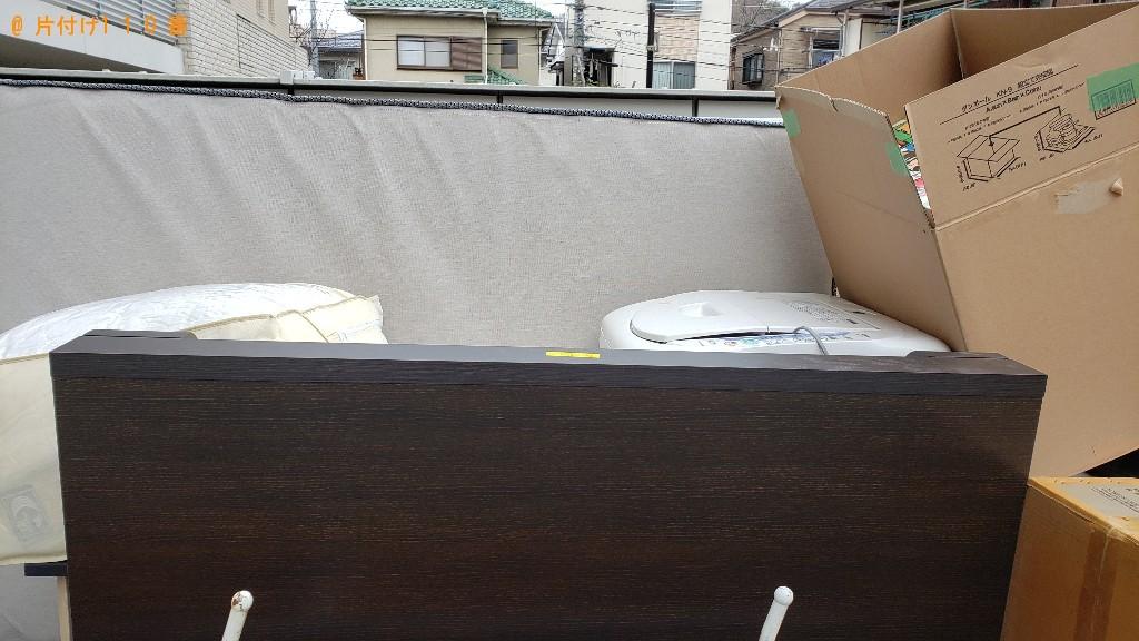 【川崎市幸区】トラックパックでの出張不用品回収・処分ご依頼