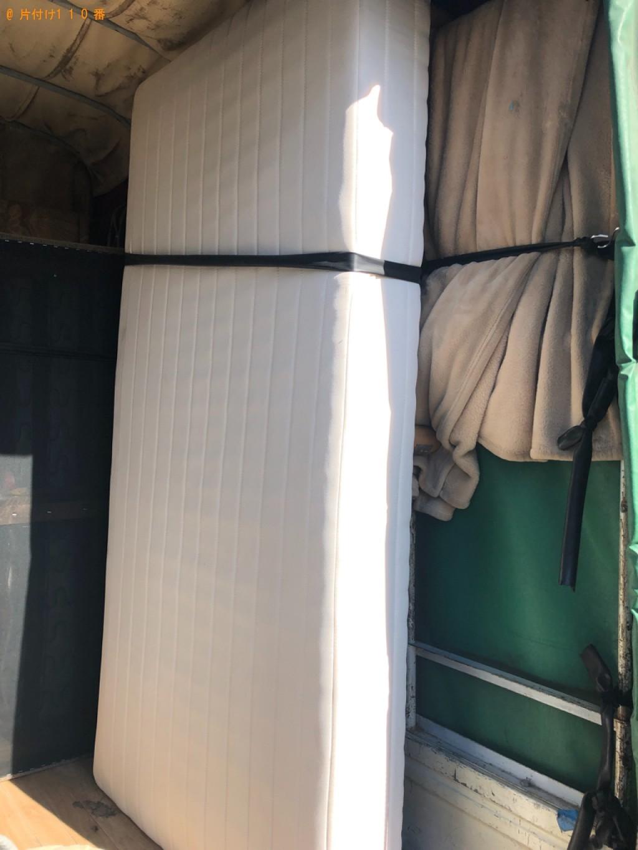 【ふじみ野】ベッドマットレスの出張不用品回収・処分ご依頼