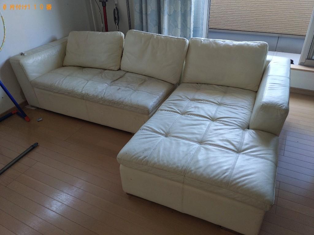 【大阪市大正区】ソファーの出張不用品回収・処分ご依頼 お客様の声