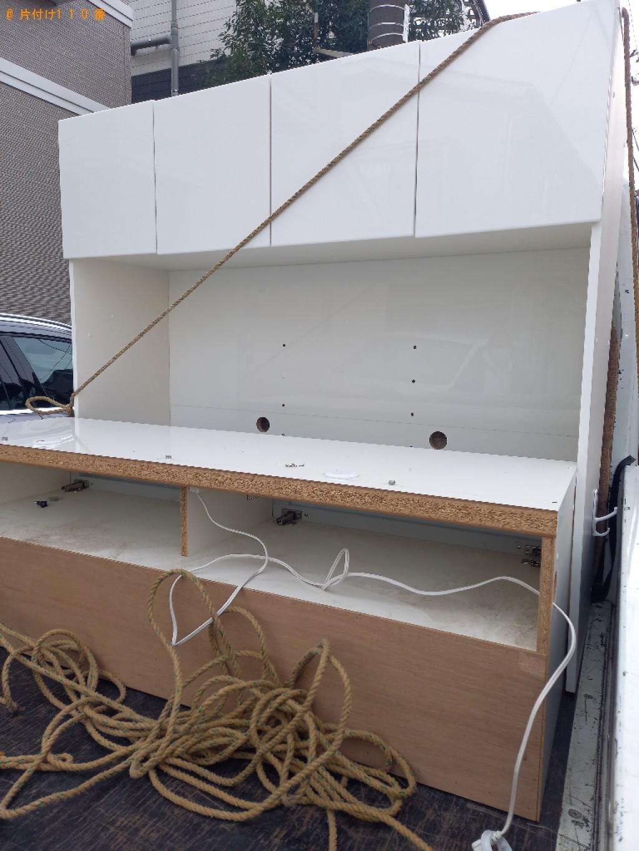 【練馬区大泉学園町】テレビ台の出張不用品回収・処分ご依頼