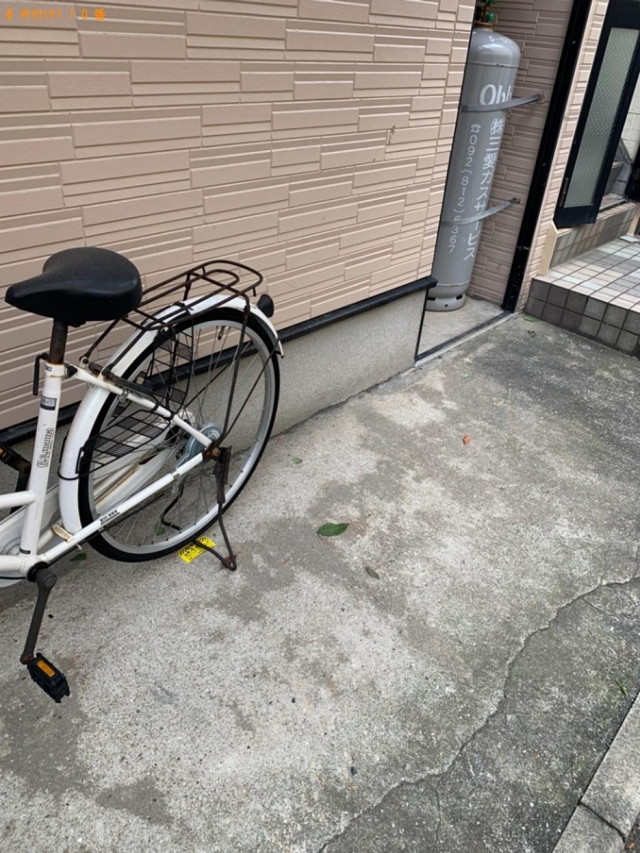 【福岡市中央区】自転車の出張不用品回収・処分ご依頼 お客様の声