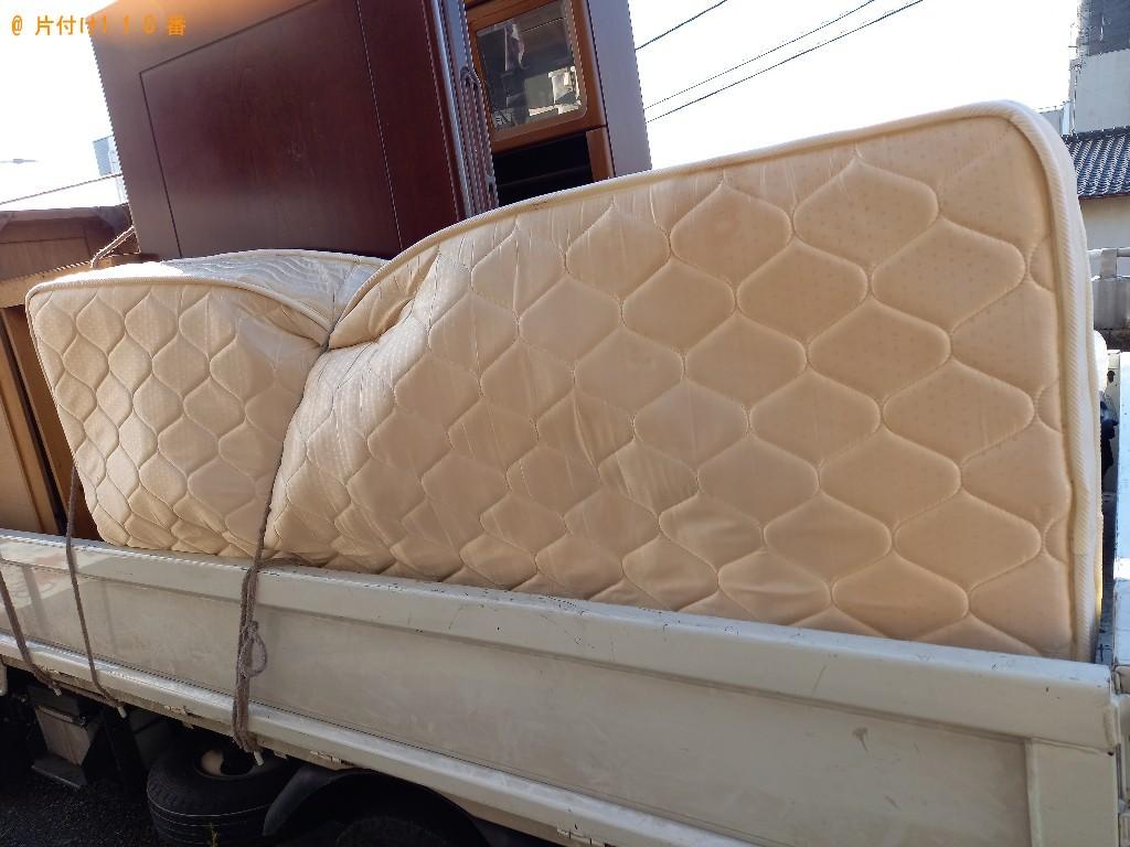 【千葉市花見川区】ベッドマットレスの出張不用品回収・処分ご依頼