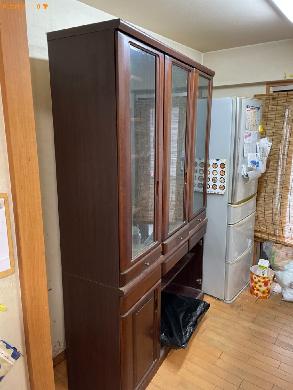 【守山市梅田町】食器棚の出張不用品回収・処分ご依頼 お客様の声