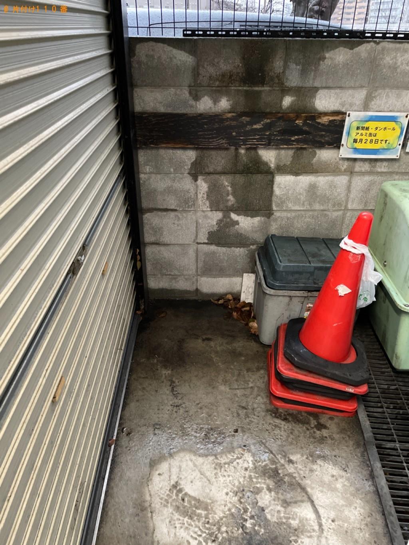 【京都市東山区】170L未満冷蔵庫の出張不用品回収・処分ご依頼