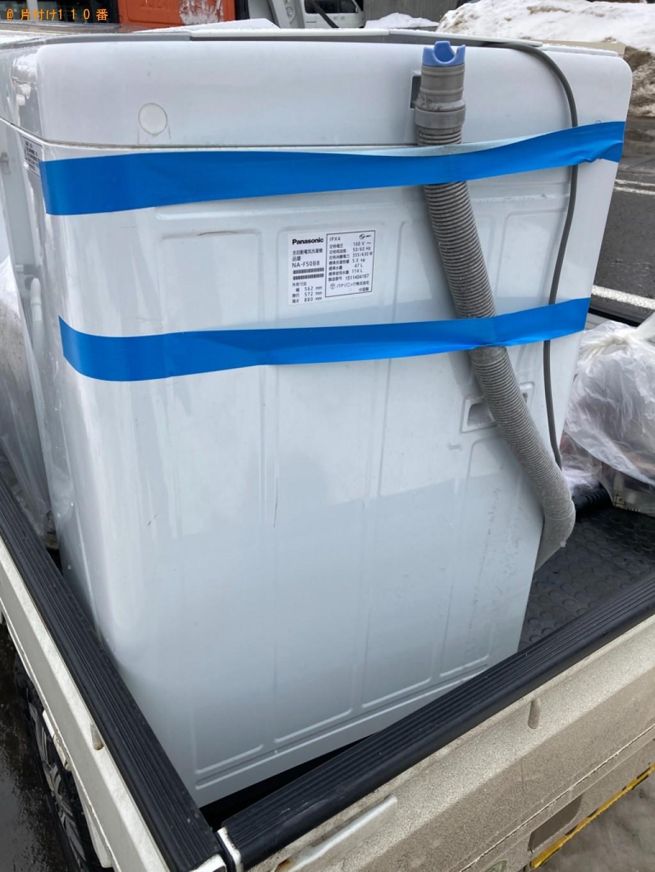 【札幌市東区】洗濯機の出張不用品回収・処分ご依頼 お客様の声