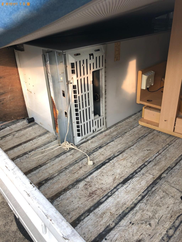 【京都市南区】170L未満冷蔵庫の出張不用品回収・処分ご依頼