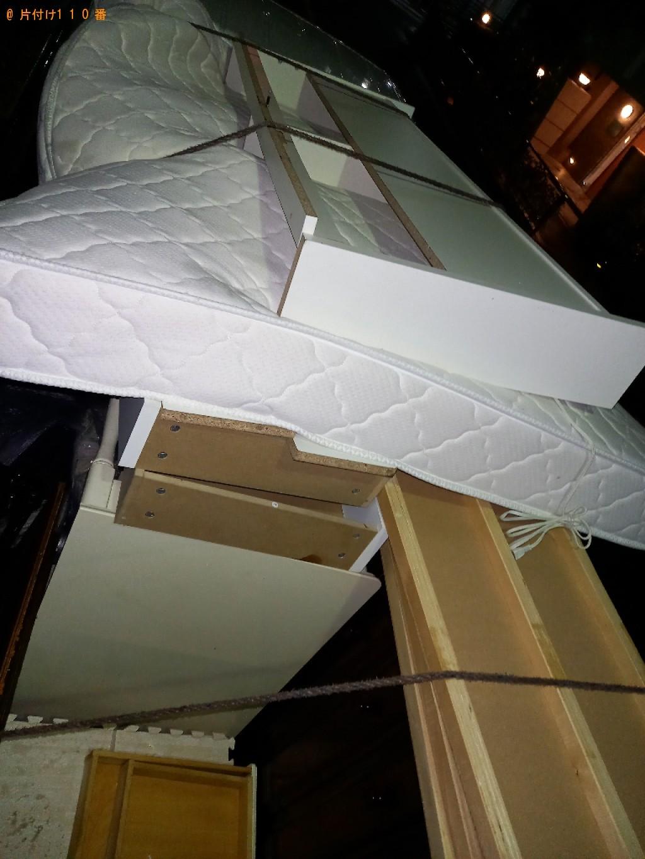 【文京区】クイーンベッドの出張不用品回収・処分ご依頼 お客様の声