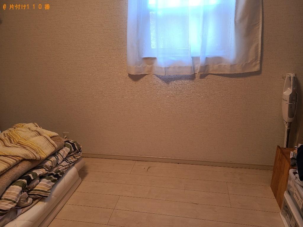 【北九州市小倉南区】シングルベッドの出張不用品回収・処分ご依頼