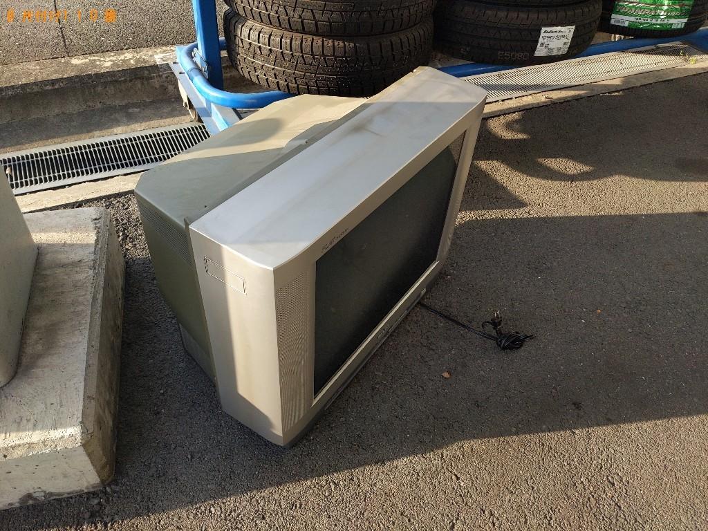 【枚方市】16型以上テレビの出張不用品回収・処分ご依頼